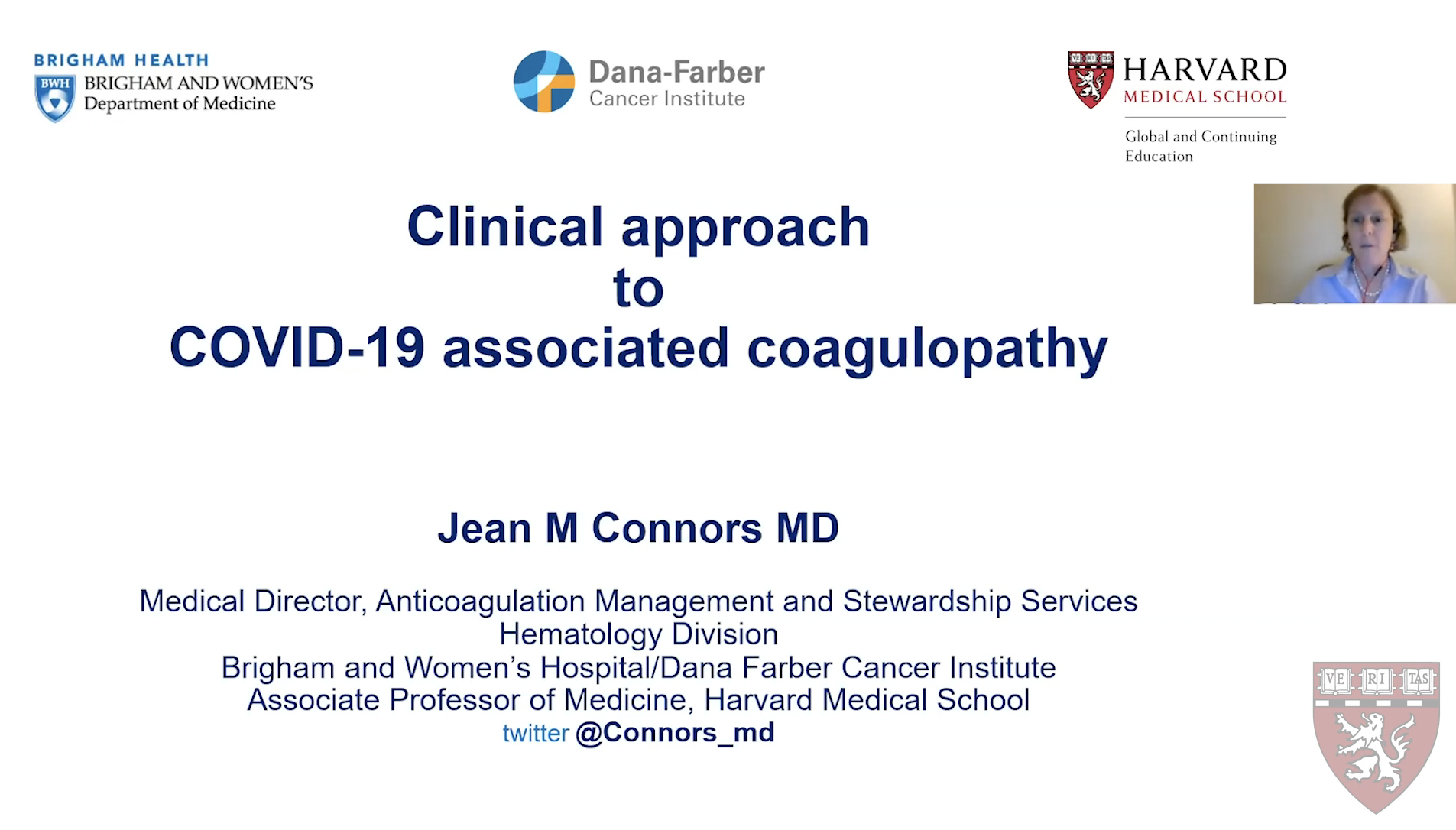 Preview of COVID-19 Hematologic Complications Presentation
